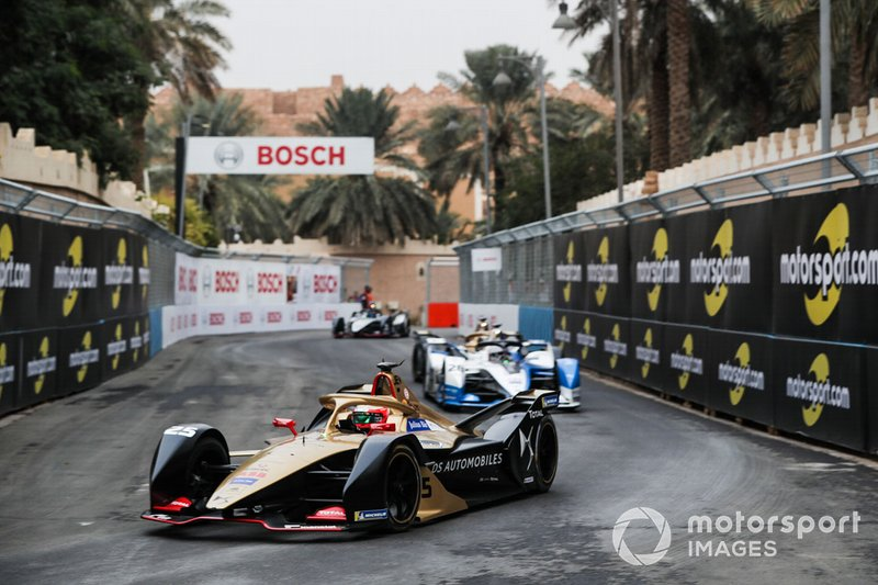 Jean-Eric Vergne, DS TECHEETAH, DS E-Tense FE19, Antonio Felix da Costa, BMW I Andretti Motorsports, BMW iFE.18