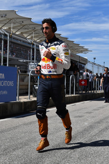 Daniel Ricciardo, Red Bull Racing runs