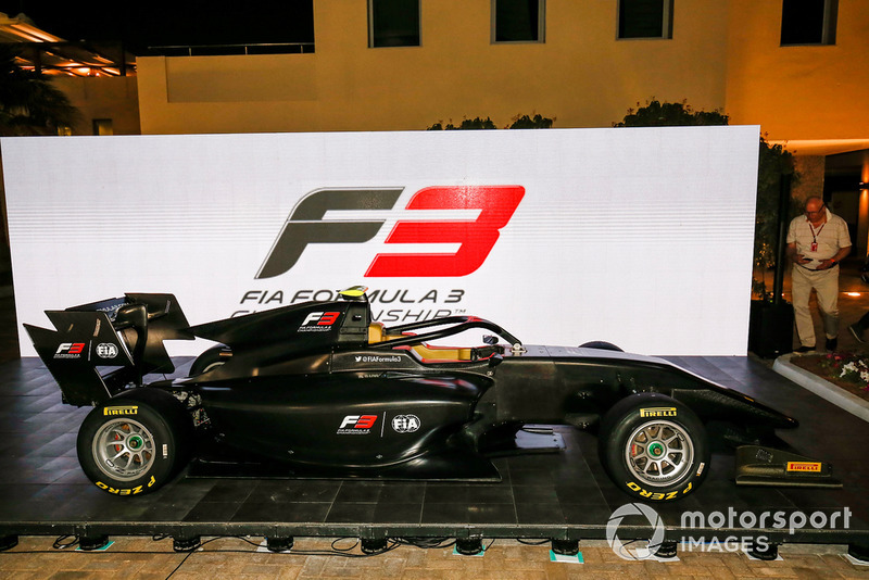 El nuevo FIA F3 2019 es anunciado en el paddock de F1