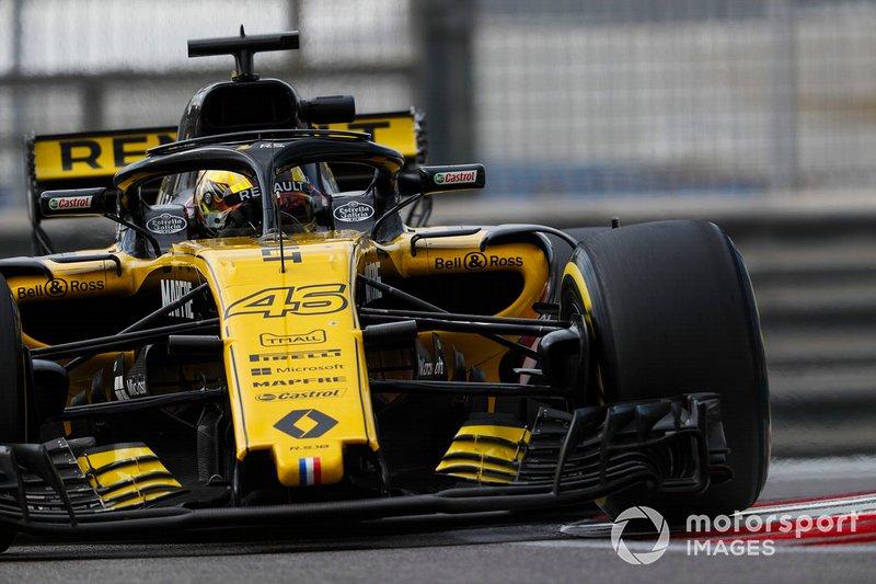 Артем Маркелов, Renault Sport F1 Team R.S. 18