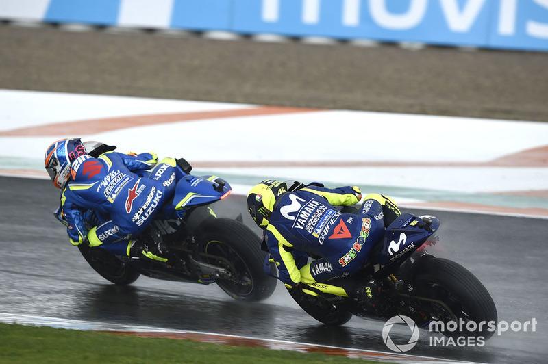 Valentino Rossi, Álex Rins