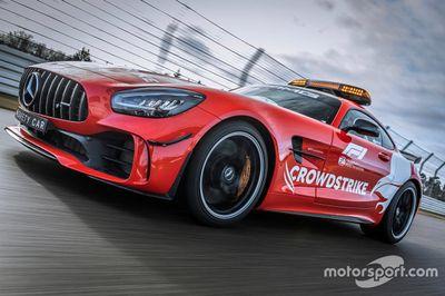 Mercedes AMG safety car unveil