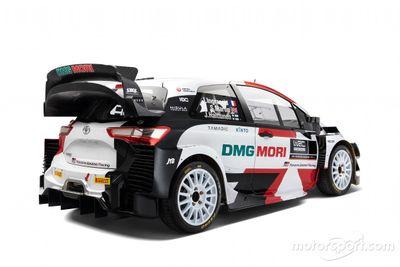 Presentación del Toyota Yaris WRC 2021