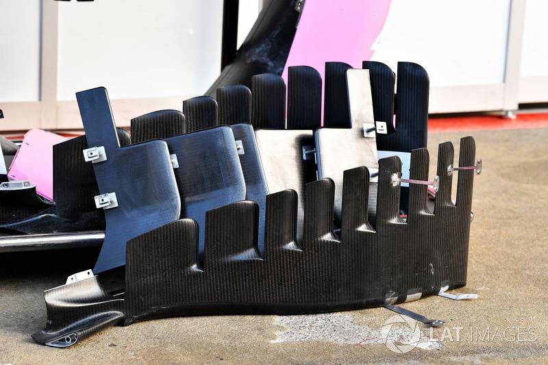 Force India VJM11 barge boards