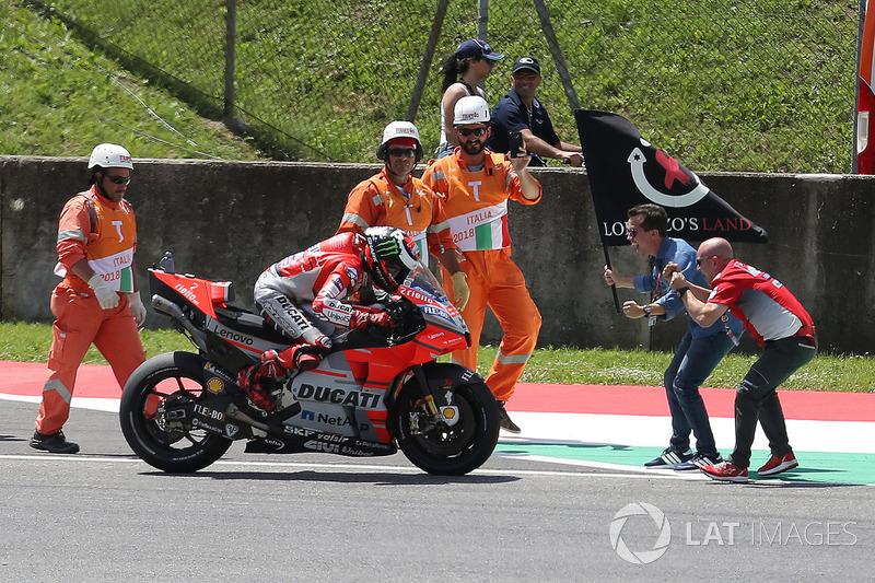 16. Gran Premio de Italia 2018: Jorge Lorenzo, Ducati Team