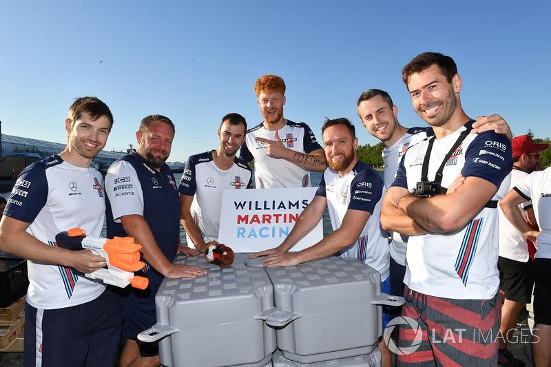 Williams у перегонах на плотах