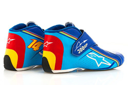 Special 300th Grand Prix racing boots for Fernando Alonso