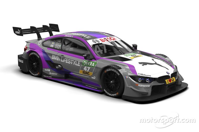 #47 Joel Eriksson, BMW M4 DTM