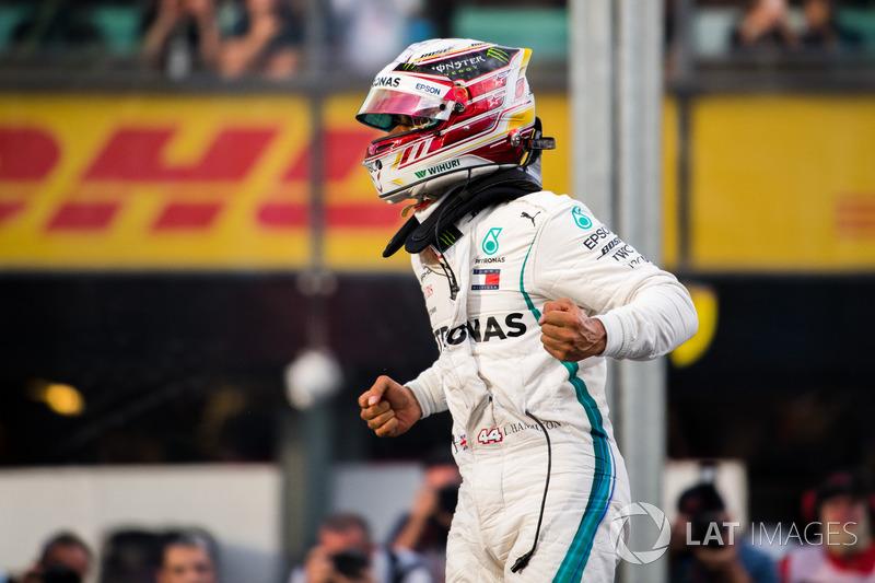 Campeão da F1 em 2017, Lewis Hamilton chegou à Austrália como favorito e conquistou a pole position