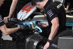 Mercedes-Benz F1 W08 detail