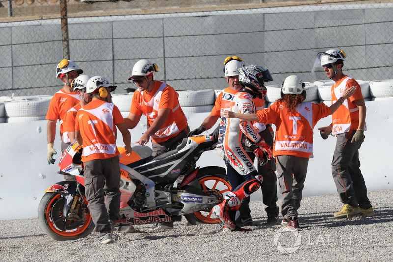 Marc Márquez, Repsol Honda Team después del accidente