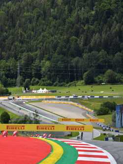 Red Bull Ring track view