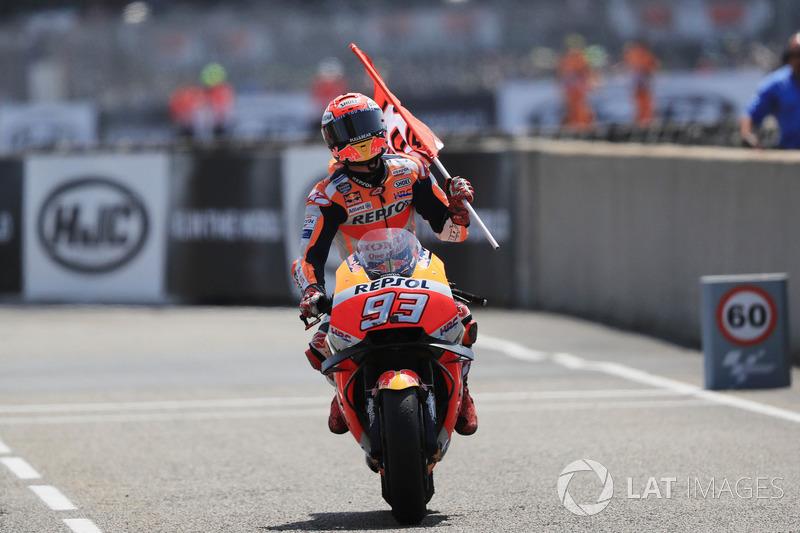 MotoGP Prancis: Marc Marquez, Repsol Honda Team