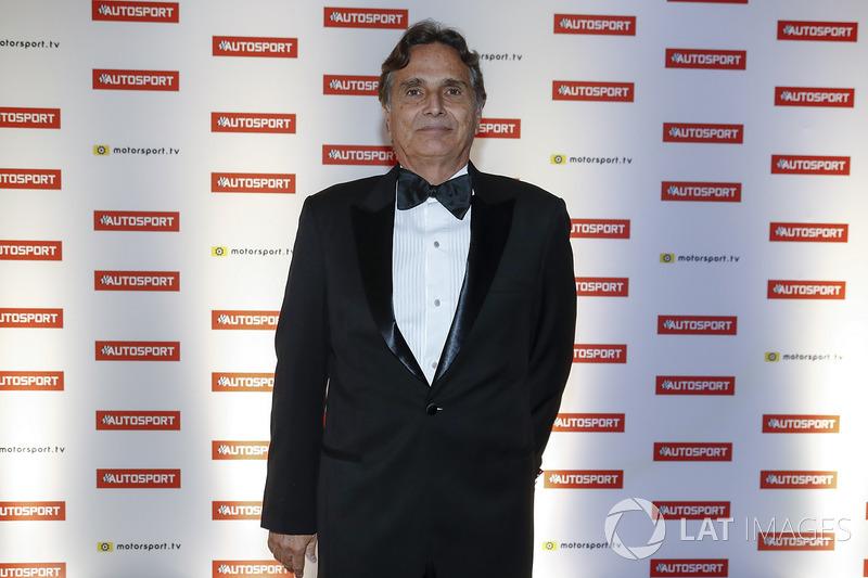 Nelson Piquet fue condecorado con el premio Gregor Grant