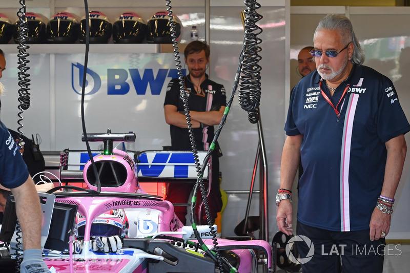 Dr. Vijay Mallya, Force India Formula One Team Owner