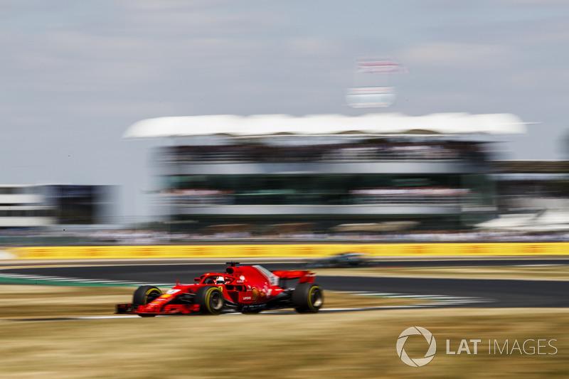 Gran Premio de la Gran Bretaña-Sebastian Vettel
