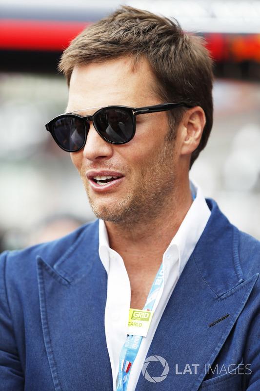 Jugador de la NFL Tom Brady