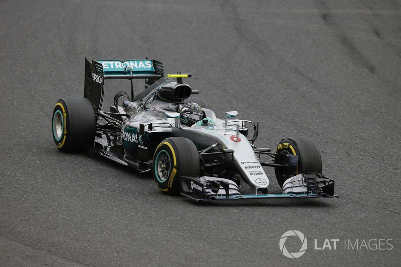 9. Nico Rosberg: 174 grandes premios (el 84,47% de los disputados)