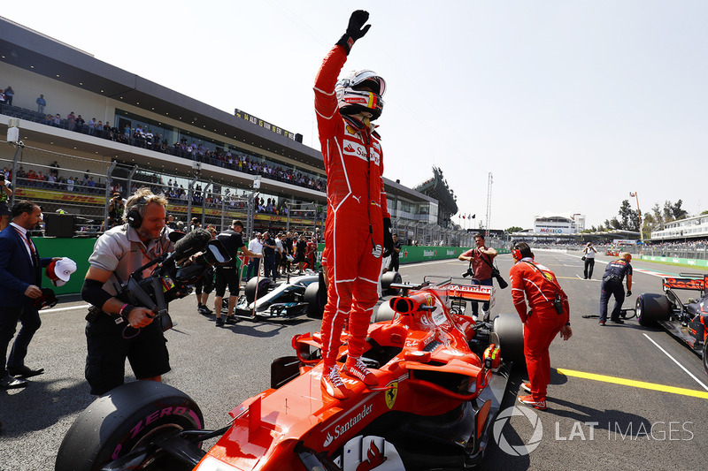 18º GP de México 2017 - Pole para Sebastian Vettel