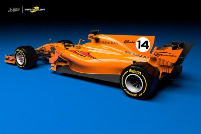 Concept livrea McLaren Renault