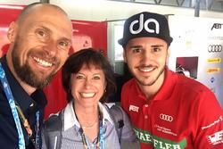 Monika Schreiner, LGT Group, con Daniel Abt, Audi Sport ABT Schaeffler