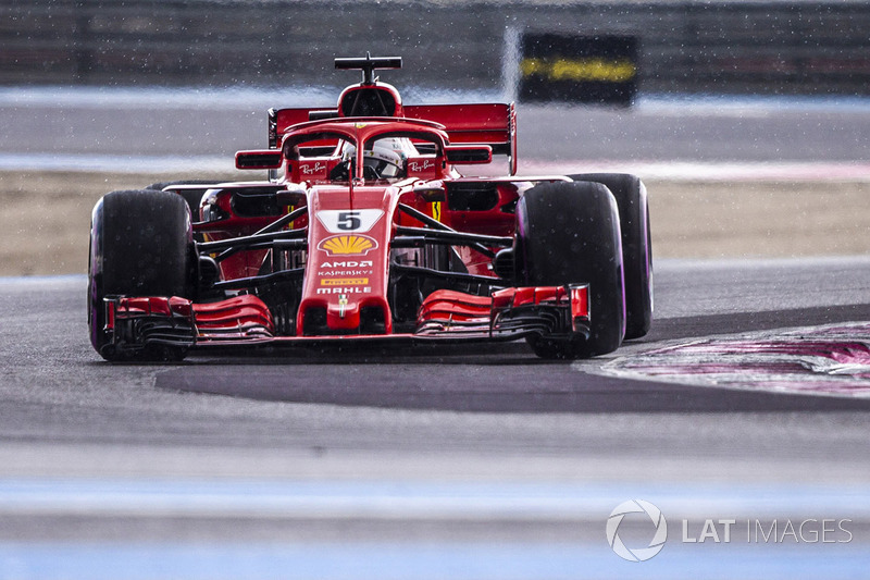 3: Sebastian Vettel, Ferrari SF71H, 1'30.400