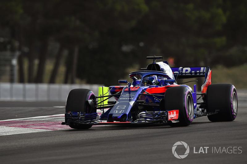 20: Brendon Hartley, Scuderia Toro Rosso STR13, 1'33.025 (inc 35-place grid penalty)
