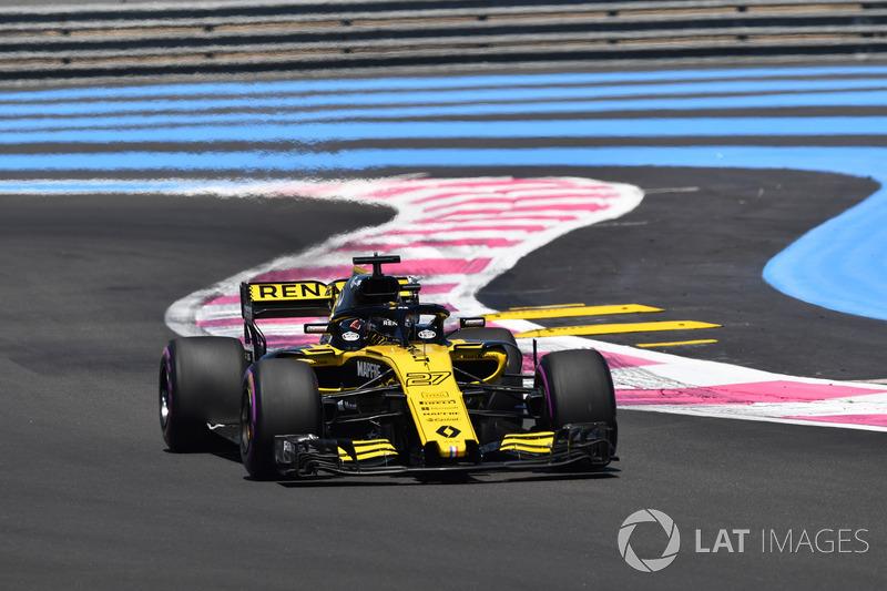 9. Nico Hülkenberg, Renault Sport F1 Team R.S. 18