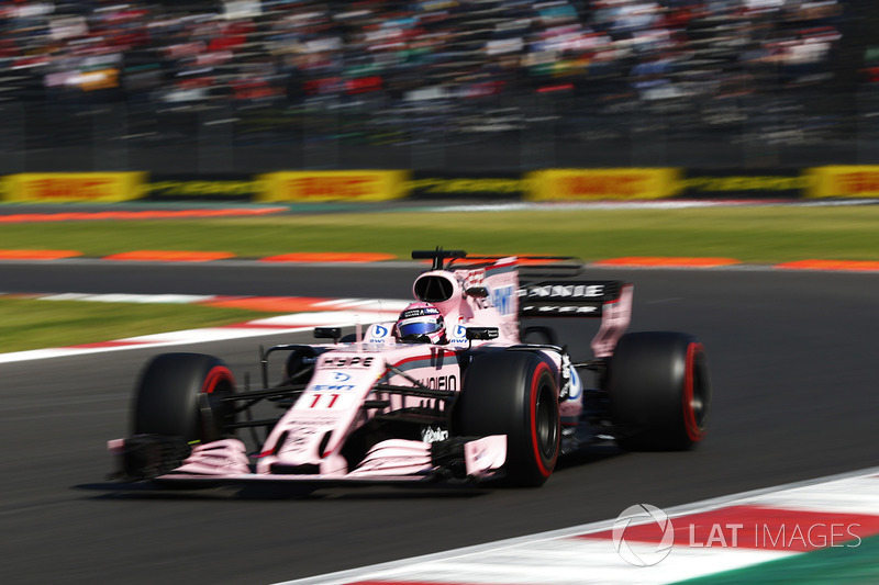 8. Sergio Perez, Sahara Force India F1 VJM10