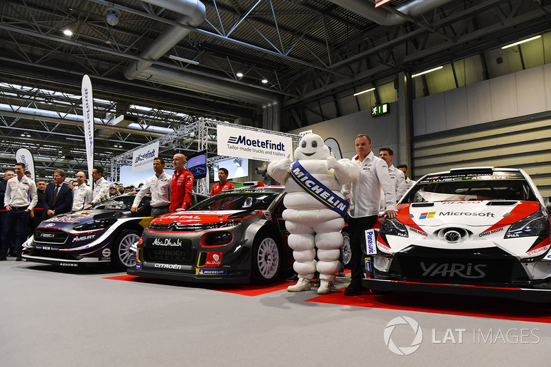 WRC cars launch