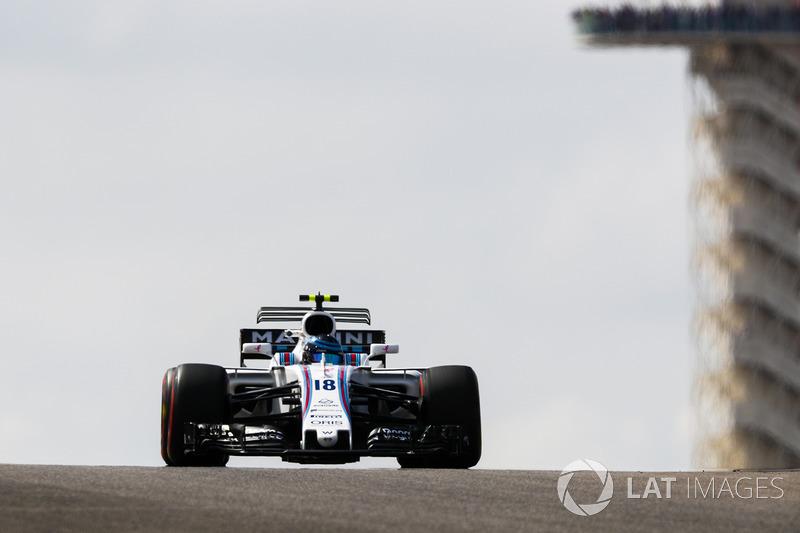 11. Lance Stroll, Williams FW40