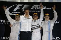 Подіум: 1. Льюіс Хемілтон, Mercedes. 2. Феліпе Масса, Williams-Mercedes. 3. Валттері Боттас, Williams-Mercedes