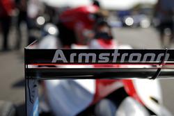 Car detail if Marcus Armstrong, PREMA Theodore Racing Dallara F317 - Mercedes-Benz