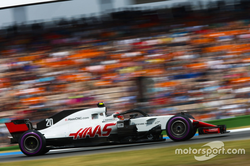 5: Kevin Magnussen, Haas F1 Team VF-18, 1'12.200