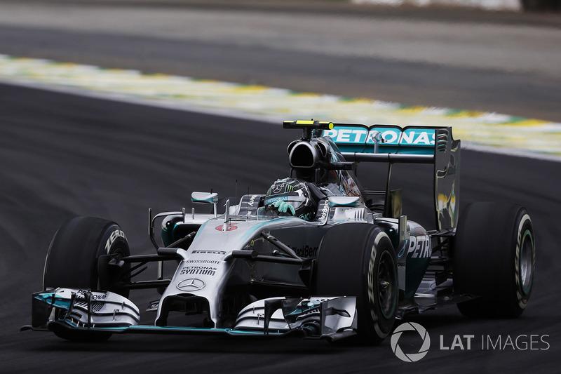 13º Nico Rosberg - 17 carreras - De Bélgica 2013 a Austria 2014 - Mercedes
