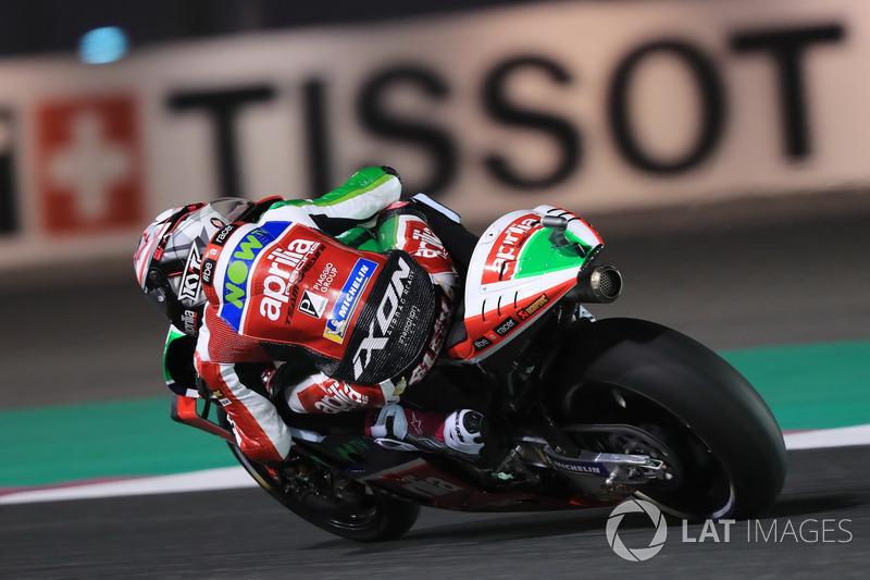 19. Aleix Espargaro, Aprilia Racing Team Gresini