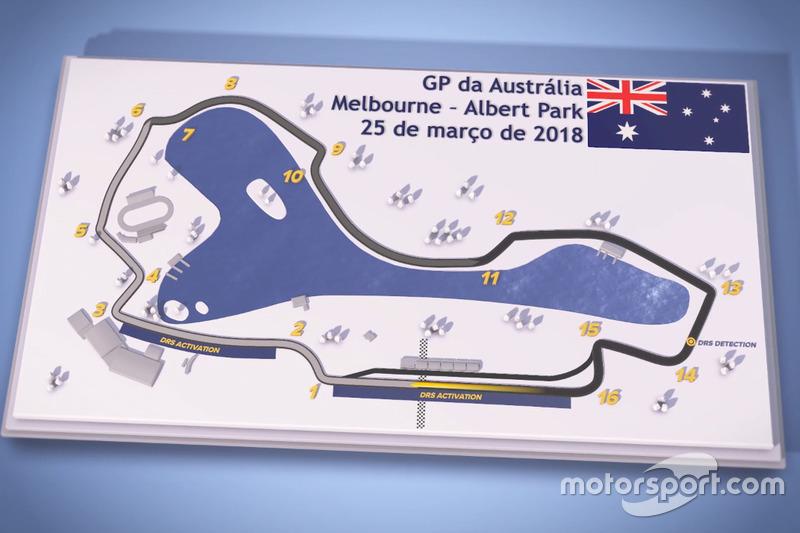 Forma-1 F1-pályabemutató 2018 - Ausztrál Nagydíj