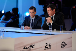ACO Präsident Pierre Fillon, WEC CEO Gérard Neveu