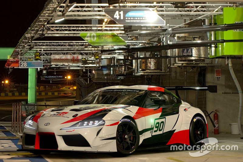 Toyota GR Supra Racing Concept In Gran Turismo Sport