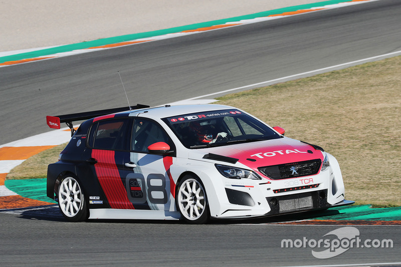 Peugeot 308 At Valencia February Testing