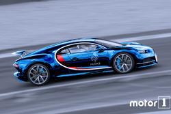 Bugatti aux couleurs de la France aux JO