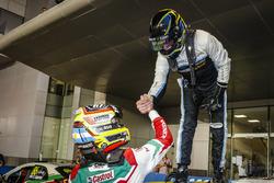 World champion Thed Björk, Polestar Cyan Racing, Volvo S60 Polestar TC1 and Esteban Guerrieri, Honda