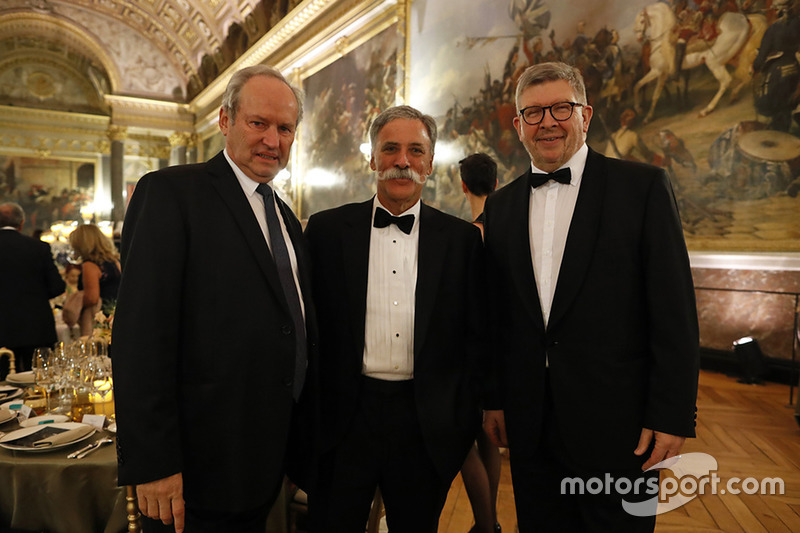 Chase Carey, CEO Formula One Group,