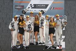 Podium: #6 Acura Team Penske Acura DPi, P: Dane Cameron, Juan Pablo Montoya, #7 Acura Team Penske Ac