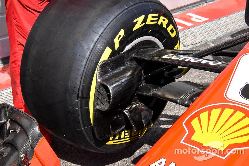 Воздуховод тормозов Ferrari SF71H