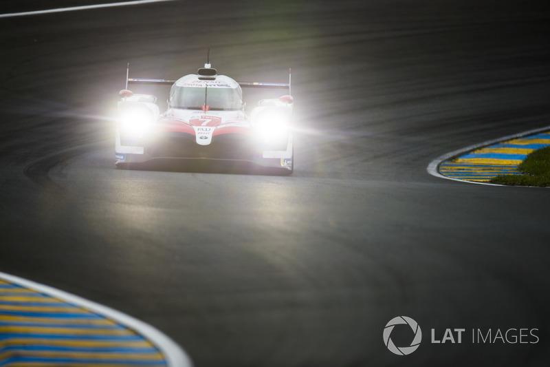 #7 Toyota Gazoo Racing Toyota TS050: Майк Конвей, Хосе Мария Лопес, Камуи Кобаяши