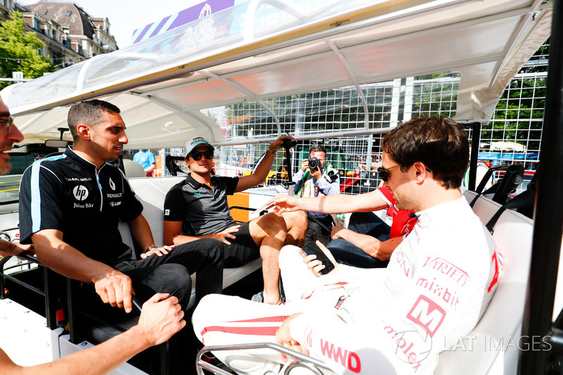 Nelson Piquet Jr., Jaguar Racing, Sébastien Buemi, Renault e.Dams, Jose Maria Lopez, Dragon Racing,