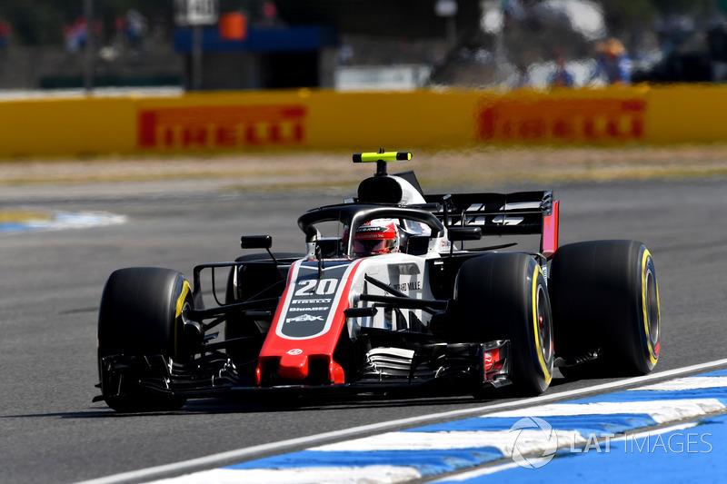 7. Kevin Magnussen, Haas F1 Team VF-18