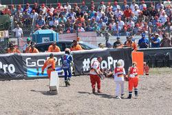 Sturz: Alex Rins, Team Suzuki MotoGP, Pol Espargaro, Red Bull KTM Factory Racing