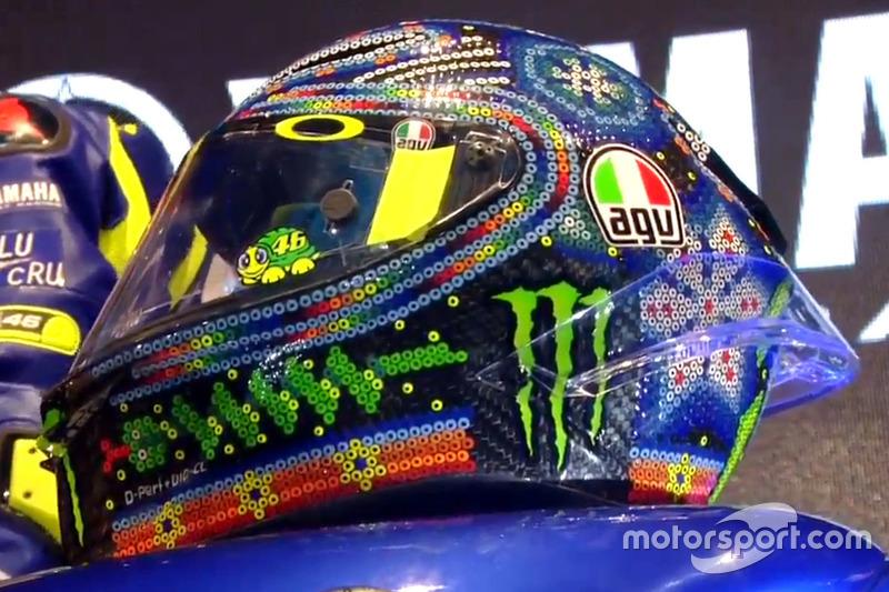 Valentino Rossi'nin kaskı, Yamaha Factory Racing